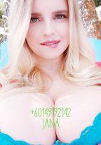 Blonde Russian Escort Aina Curvy Ass BBW GFE Kuala Lumpur